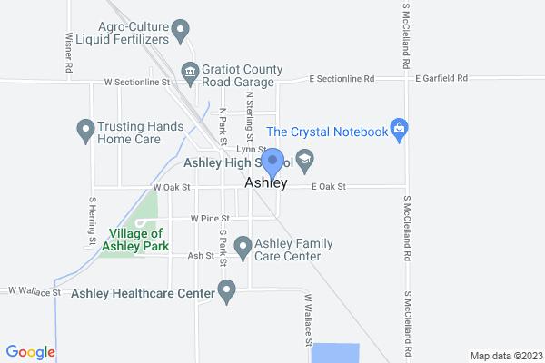 104 North New Street, Ashley, MI 48806, USA