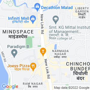 Google Map of 104, Bhoomi Castle, Opp. Goregaon Sports Club, Link Road, Malad (W), Mumbai