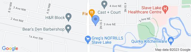 105 3 Ave NE, Slave Lake, AB T0G 2A0, Canada