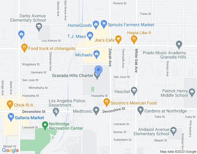 10535 Zelzah Avenue, Granada Hills, CA 91344, USA