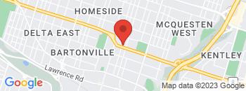 Google Map of 109+Queenston+Road%2CHamilton%2COntario+L8K+1G3