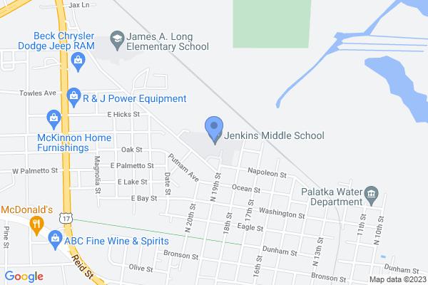 1100 North 19th Street, Palatka, FL 32177, USA