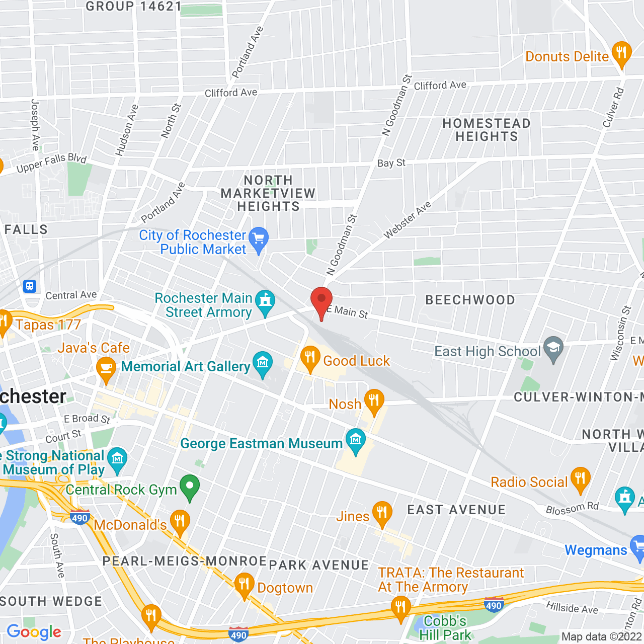 location for Metro Justice