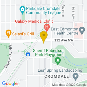 Map to Uptown Folk Club - Norwood Legion provided by Google