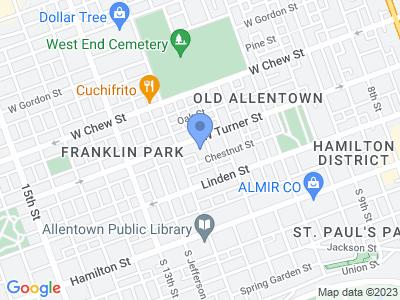 1124 W Turner St, Allentown, PA 18102, USA