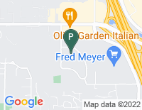 Google Map of 11335 NE 122nd Way, Kirkland WA