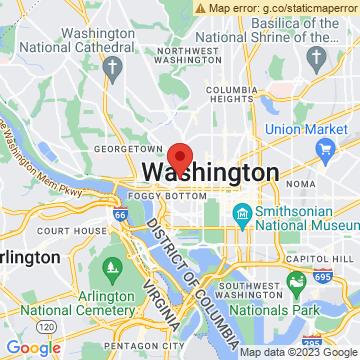 Google Map of 1143 New Hampshire Ave NW, Washington, DC 20037