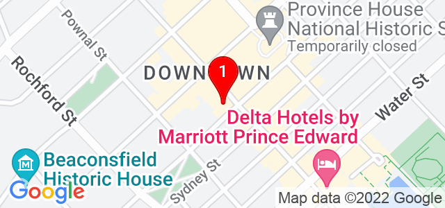 Google Map of 115 Queen St, Charlottetown, Canada