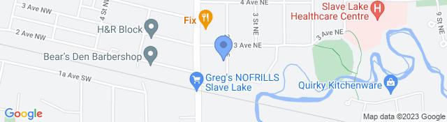 117 3 Ave NE, Slave Lake, AB T0G 2A0, Canada