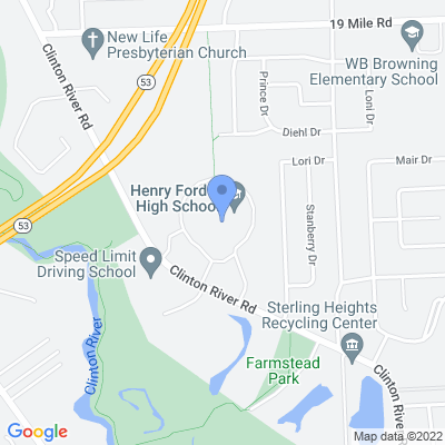 11911 Clinton River Rd, Sterling Heights, MI 48313, USA