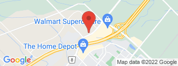 Google Map of 1195+Steeles+Ave%2CMilton%2COntario+L9T+2X8