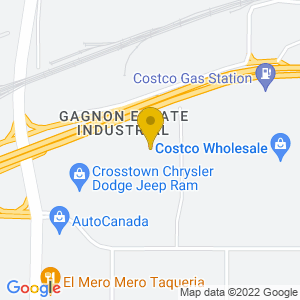 Map to Casino Yellowhead provided by Google