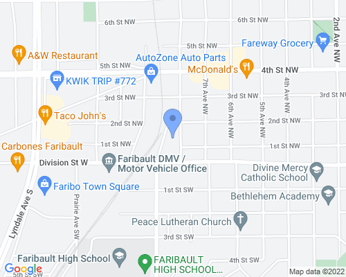128 8th Avenue Northwest, Faribault, MN 55021, USA