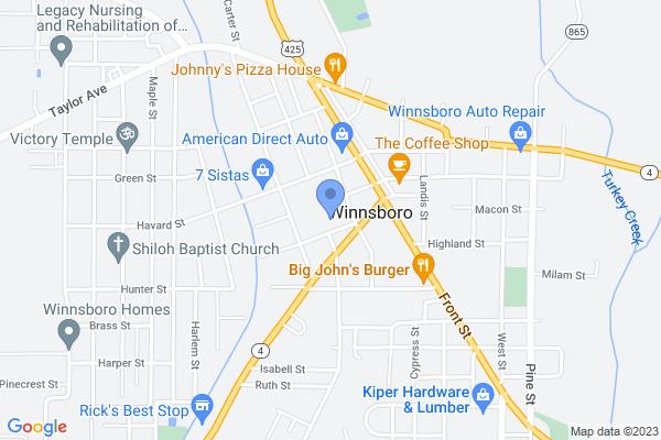 1310 Warren St, Winnsboro, LA 71295, USA