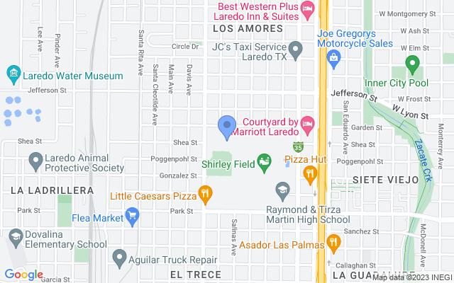 1311 Garden St, Laredo, TX 78040, USA