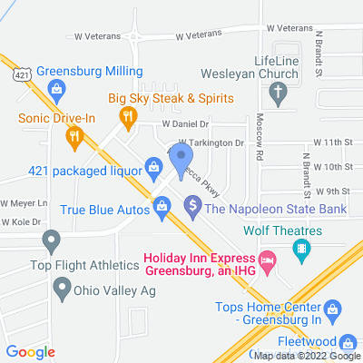 1312 Westridge Pkwy, Greensburg, IN 47240, USA
