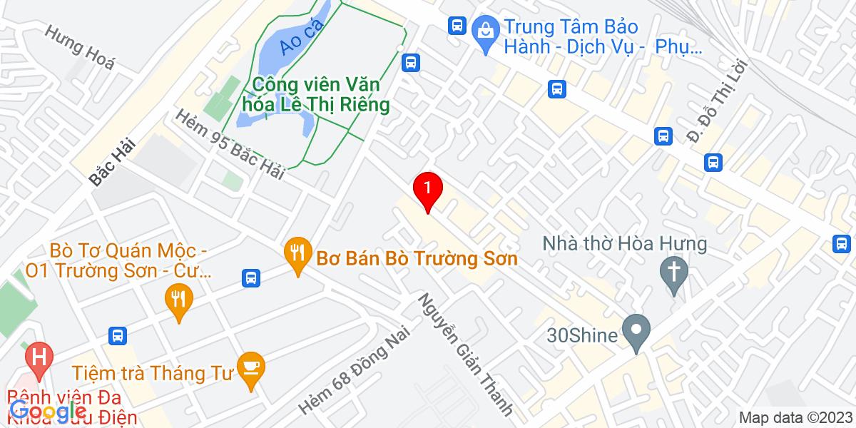 Google Map of 133 hồ bá kiện