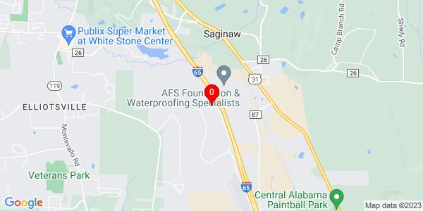 Google Map of Atlanta, Ga