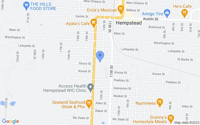 1340 13th St, Hempstead, TX 77445, USA