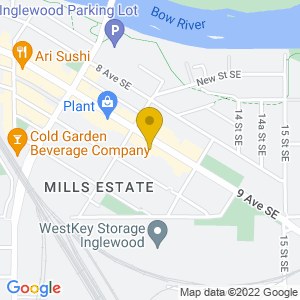 Map to Lolita's Lounge provided by Google