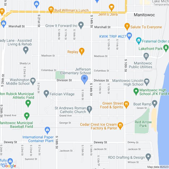 1415 Division St, Manitowoc, WI 54220, USA