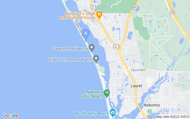 1416 Casey Key Rd Nokomis Florida 34275 locatior map
