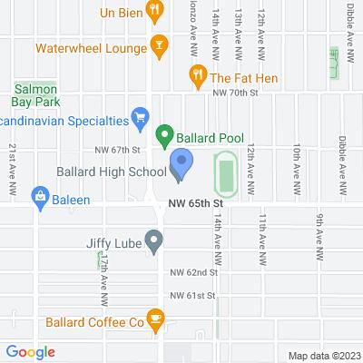 1418 NW 65th St, Seattle, WA 98117, USA