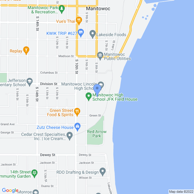 1433 S 8th St, Manitowoc, WI 54220, USA