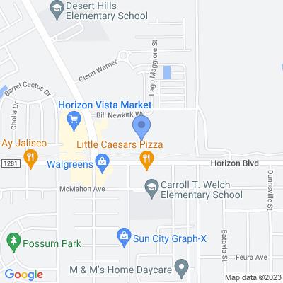 14521 Horizon Blvd, El Paso, TX 79928, USA