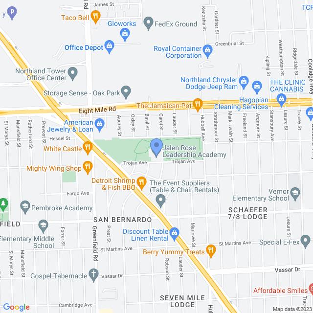 15000 Trojan Street, Detroit, MI 48235, USA