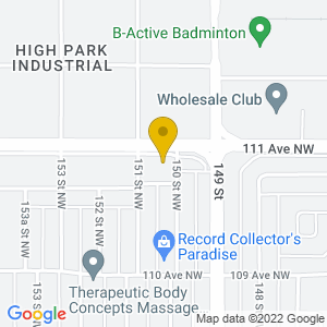 Map to New West Hotel provided by Google