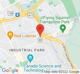 Google Map of 1599+Star+Top+Rd.%2COttawa%2COntario+K1B+5P5