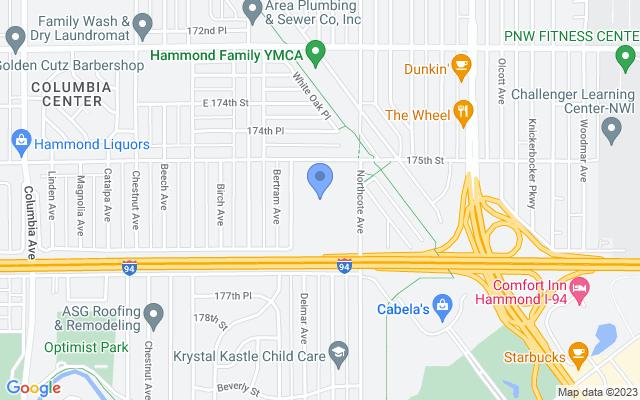 1670 175th St, Hammond, IN 46324, USA