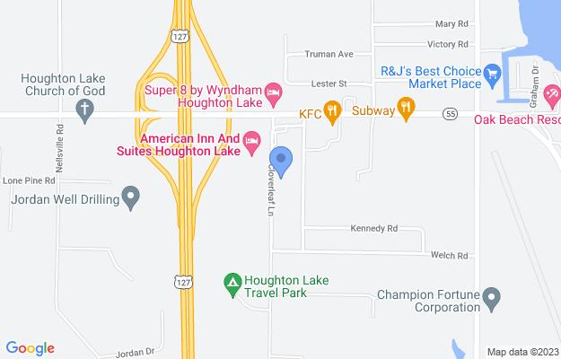 179 Cloverleaf Ln, Houghton Lake, MI 48629, USA