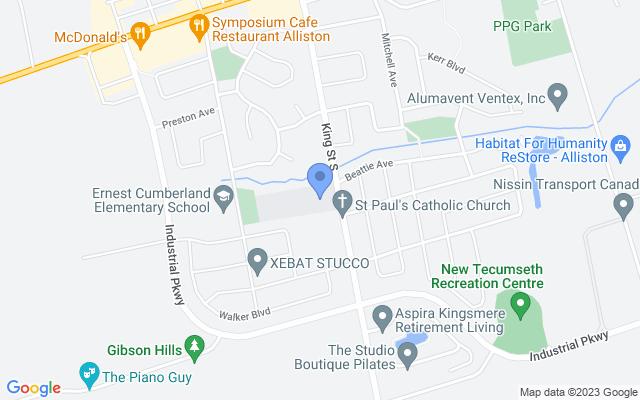 180 King St S, Alliston, ON L9R 0A9, Canada