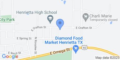 1801 E Crafton St, Henrietta, TX 76365, USA