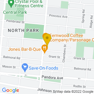 Map to Logans Pub provided by Google