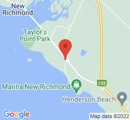 Google Map of 189+Boul.+Perron+Est%2CNew+Richmond%2CQuebec+G0C+2B0