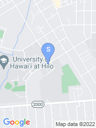 University of Hawaii Hilo map