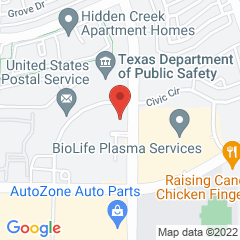 Google Map of 190 North Valley Parkway, Suite 203, Lewisville, Texas 75067