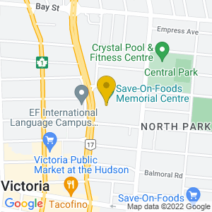 Map to Save On Foods Memorial Centre provided by Google