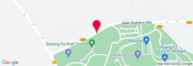 Map for Sepang International Circuit