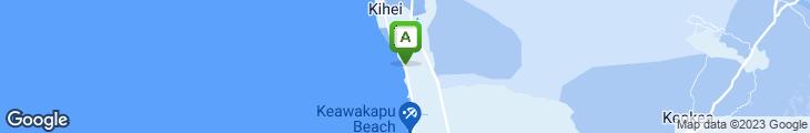 Map of Maui Tacos