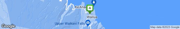 Map of Hau Tree Gazebo Bar