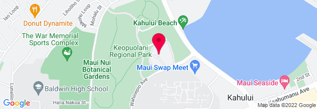 Map for Maui Arts & Cultural Center