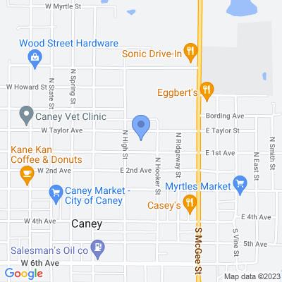 201 E 1st Ave, Caney, KS 67333, USA