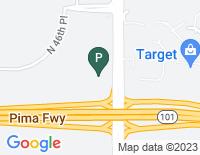 Google Map of 20860 N. Tatum Blvd, Phoenix AZ