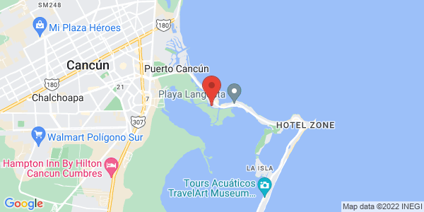 Sotavento Hotel & Yacht Club , Cancun Map