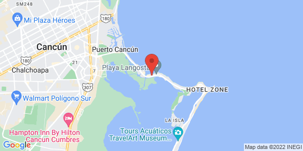 The Royal Cancun, All Suites Resort , Cancun Map