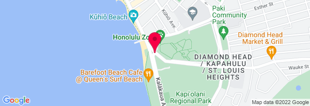 Map for Waikiki Shell